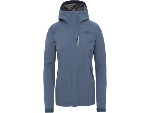 The North Face Dryzzle FutureLight Jacket Women blue wing teal heather